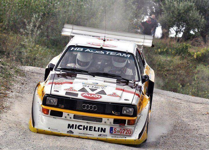 ra Walter Röhrl & Wolf Dieter Ihle Audi Quattro S1
