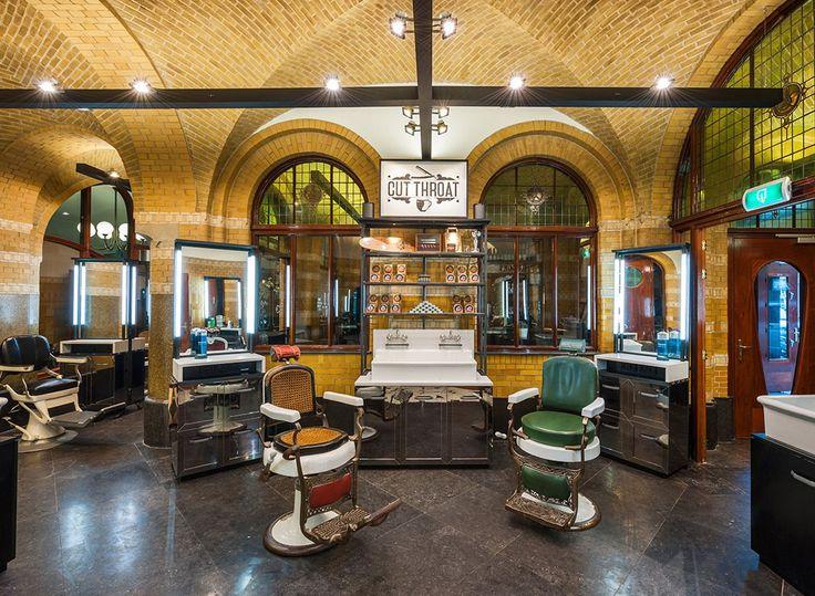 Cut Throat Barber Amsterdam designed by TANK