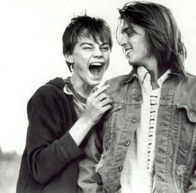 Two favorites.. - Leonardo DiCaprio & Johnny Depp in What's Eating Gilbert Grape
