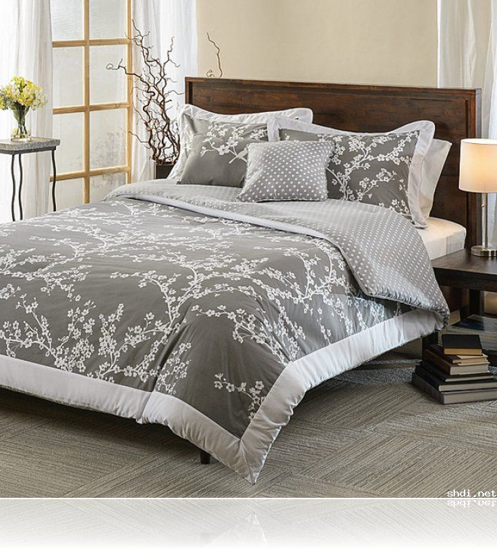 purple grey bedding google search