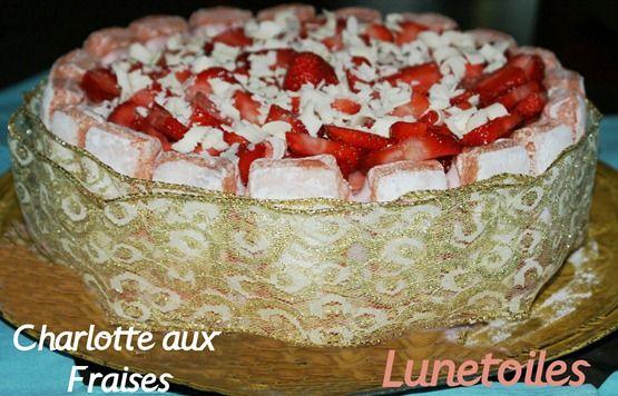 recette Charlotte aux fraises - Amour de cuisine