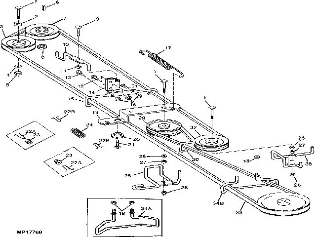 Mower Belts on john deere stx 38 wiring diagram