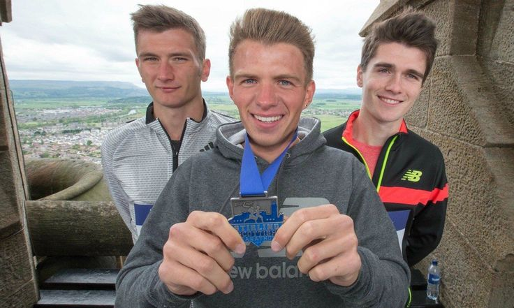 Andrew Butchart remains focused after Scotish record-breaking 5k run of 13m 13sec