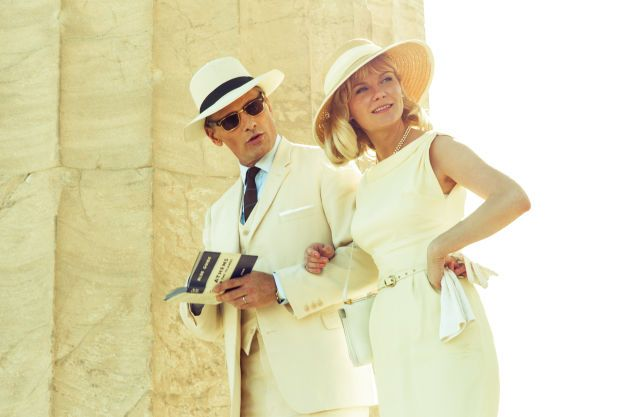 """""""The Two Faces Of January"""" This thriller follows Chester MacFarland (Viggo Mortensen) and his wife Colette (Kirsten Dunst) as they befriend a guide (Oscar Isaac) on a European trip. This friendship takes a turn when it morphs into a love triangle full of envy, and murder."""