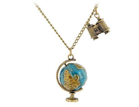 Dünya ve Dürbün Kolye http://cokhos.com/collections/hediyelik/products/dunya-ve-durbun-kolye-ucu