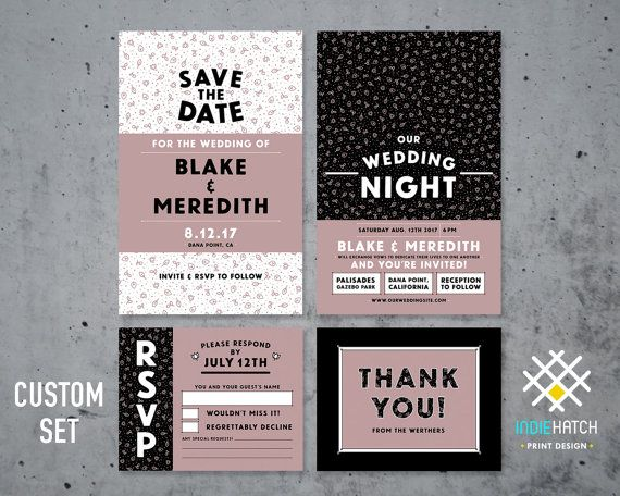 32 best Wedding Invite Packages images on Pinterest Invite Card