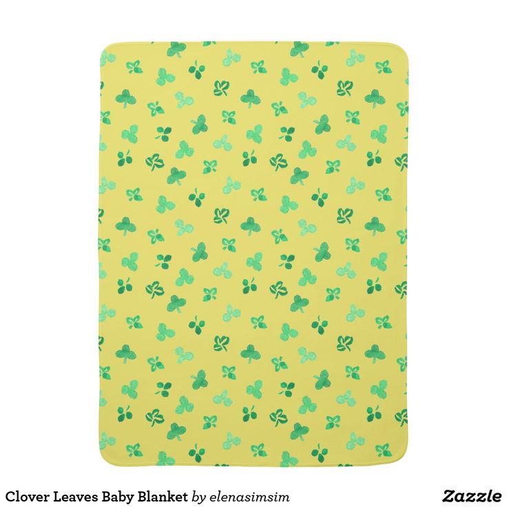 Clover Leaves Baby Blanket