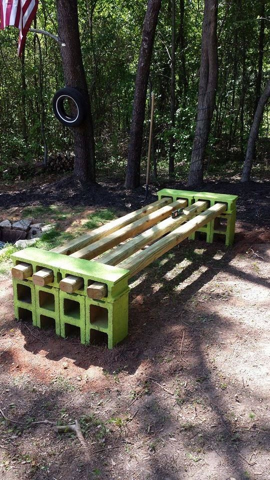 Simple DIY bench 15 best Benches images on Pinterest