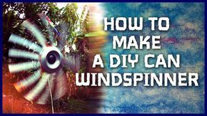 Make a do it yourself recycled soda can whirligig wind spinner using an aluminum can, tea can, pop can, or beer can. I was on vacation in California when I put this episode together and found the c…