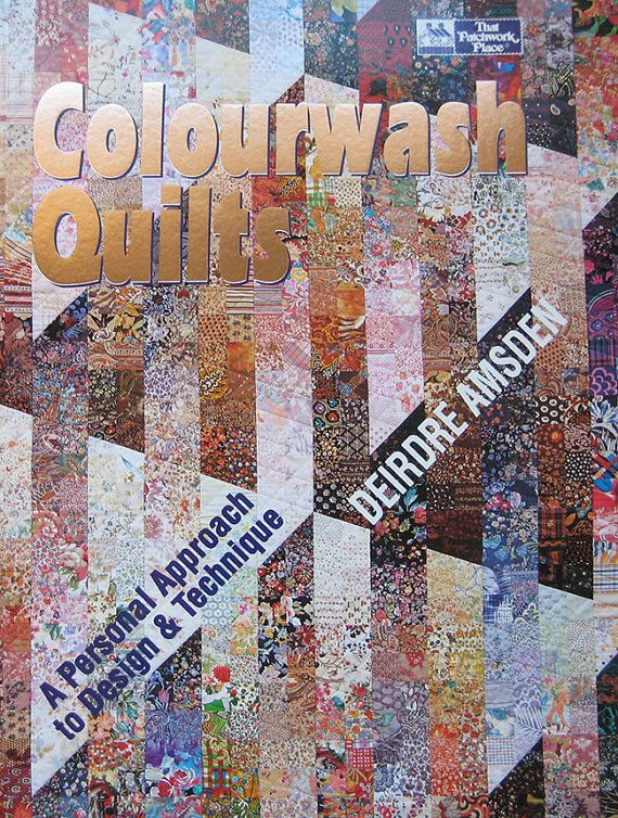 Book Cover Watercolor Quilt : Best images about colourwash quilts on pinterest quilt