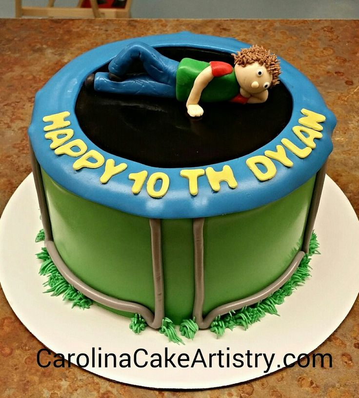 1000+ Images About Trampoline Cakes On Pinterest