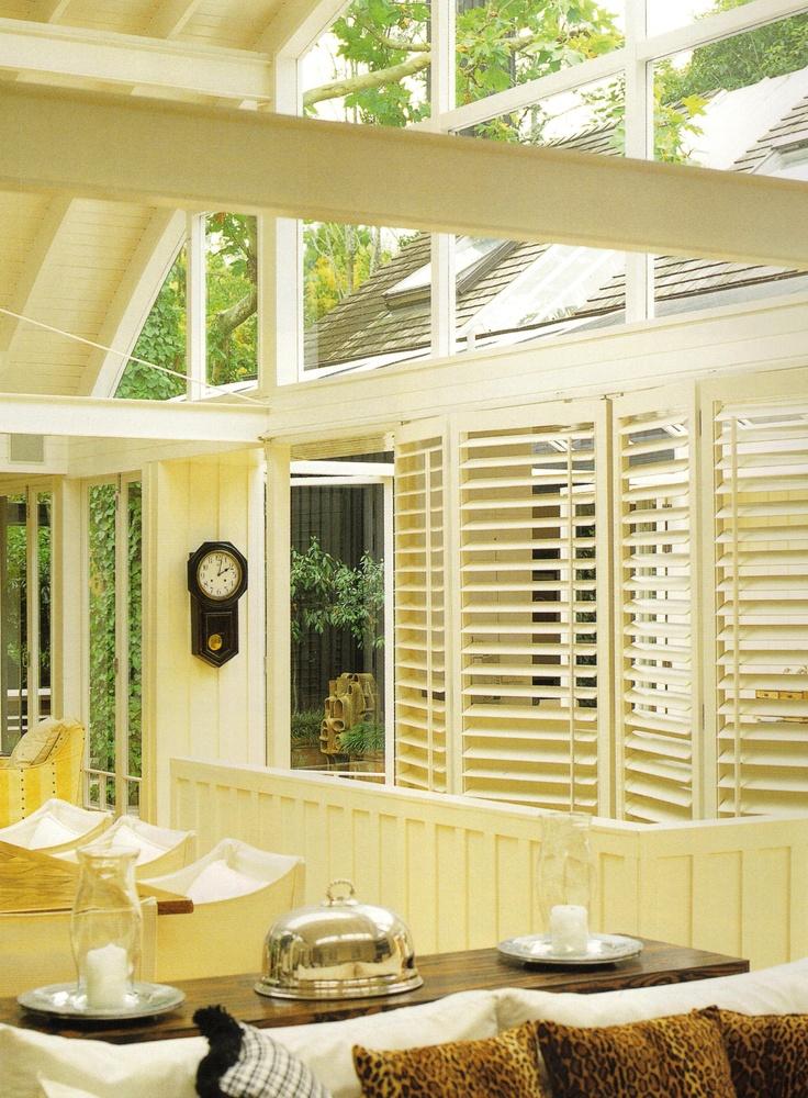 10 best bi fold door shutters images on pinterest shades for Alternative to plantation shutters