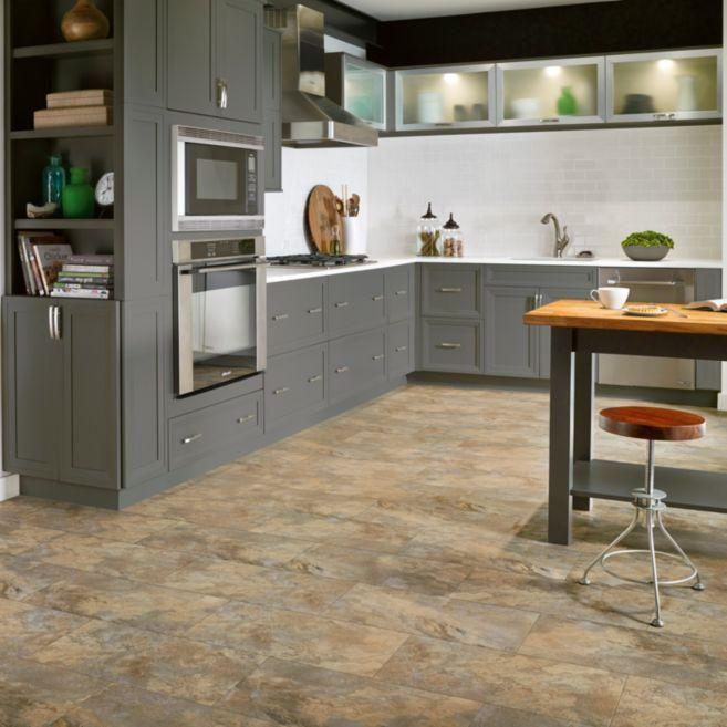 Armstrong Sahara Beige Luxe With Lvp Rigid Core 12 X 24 Warehouse 7 Vinyl Plank Flooring Kitchen Flooring Luxury Vinyl Tile