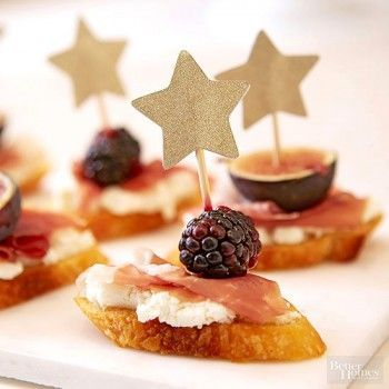 Bite Sized Treats are the perfect foods to enjoy during a Golden Globes or Awards Show viewing party!