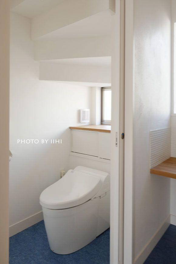 実例に学ぶヒント_U字型階段下トイレ、収納の工夫♪ | いいひブログ - いいひ住まいの設計舎