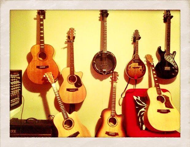 When all else fails, my guitars make me happy. M