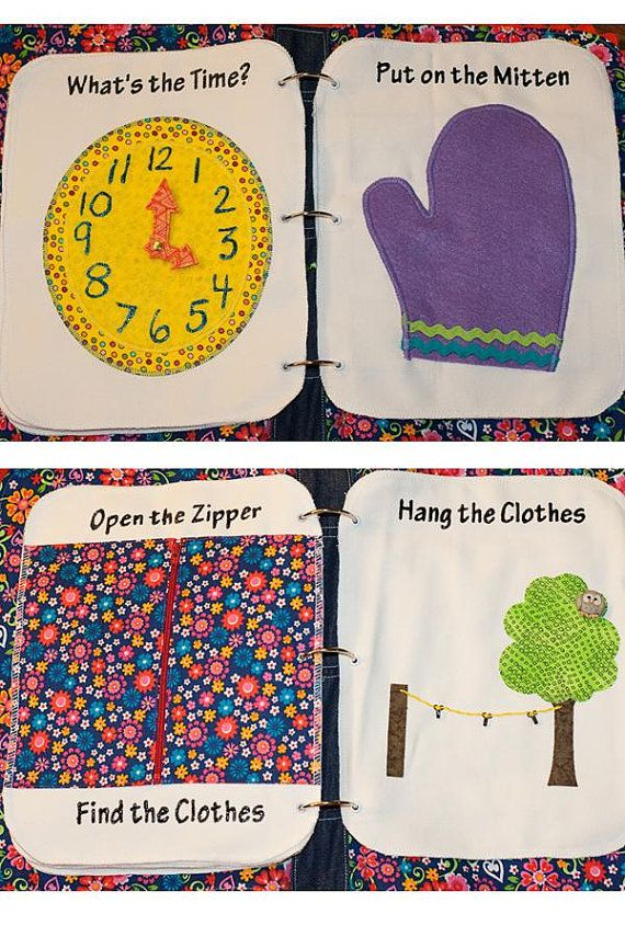 Quiet book ideas I loved making quiet books for my kids! Such a great learning tool for toddlers!