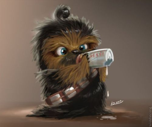 A baby Wookie, I want!!