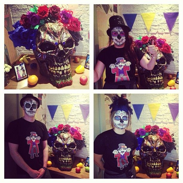 Day of the Dead celebrations 2014