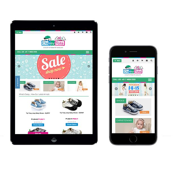 We transformed ordinary website into responsive one, so it can be viewed at any device!  Get a mockup design by visiting our website.