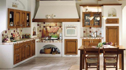cocina-con-muebles-de-color-marron