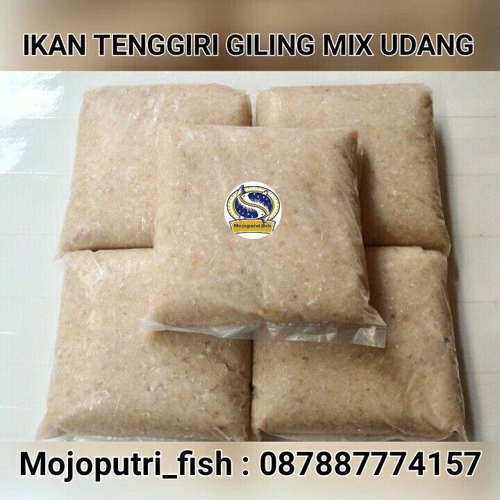 Ikan tenggiri giling mix udang