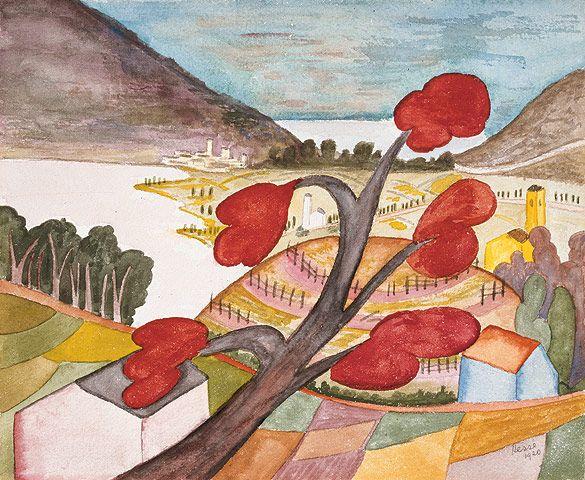 Herbsttag bei Caslano, 1920         © Fondazione Hermann Hesse Montagnola