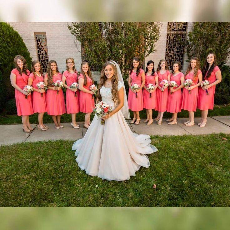 Jessa Duggar and her bridesmaids