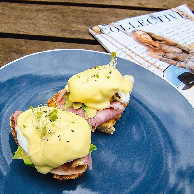 Hard work really made relaxing after worth it! Sitting down to a delicious eggs benny (with avocado on it!), latte and an old issue of my favourite magazine I hadn't quite finished after sweating it out climbing the Dandenong Ranges 1000 Steps Kokoda Memorial Trail.  I now get why this is a favourite of Melbourne fitness fans!   #DandenongRanges #Victoria #Australia  