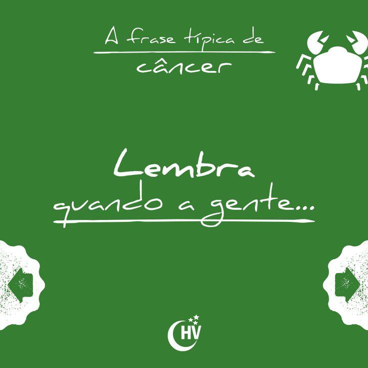 Frase de Câncer. #horóscopovirtual #signos #zodíaco #frases #câncer