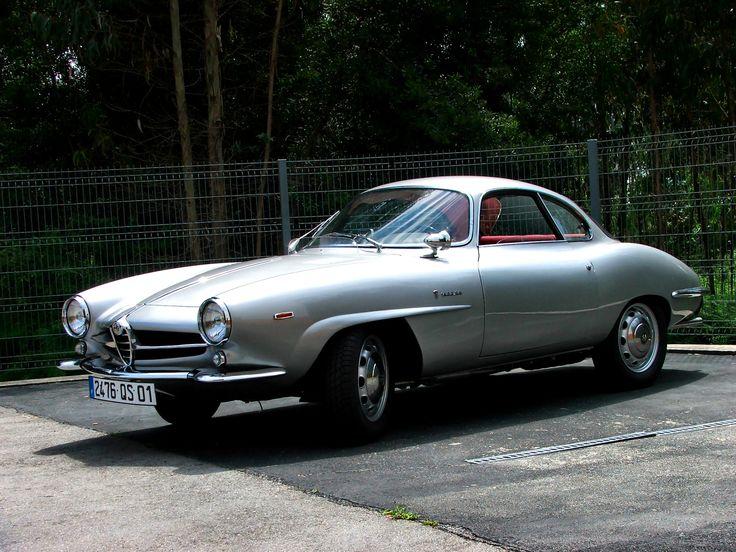 1963 Alfa Romeo Giulia Sprint Speciale