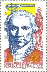 Resultado de imagem para selo de Gaspard Monge