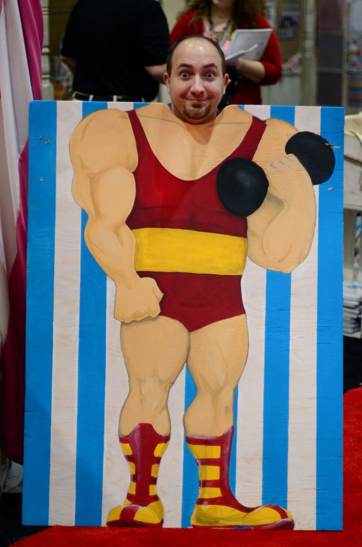 Circus themed photo Cut out... who can get me one of these
