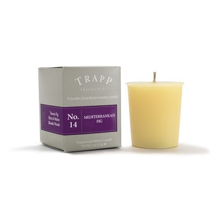 No 14 Mediterranean Fig - 2oz Votive Candle | Trapp Candles