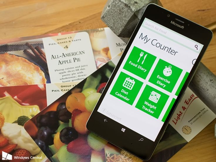 Start the New Year's right with these calories counting apps for Windows phone
