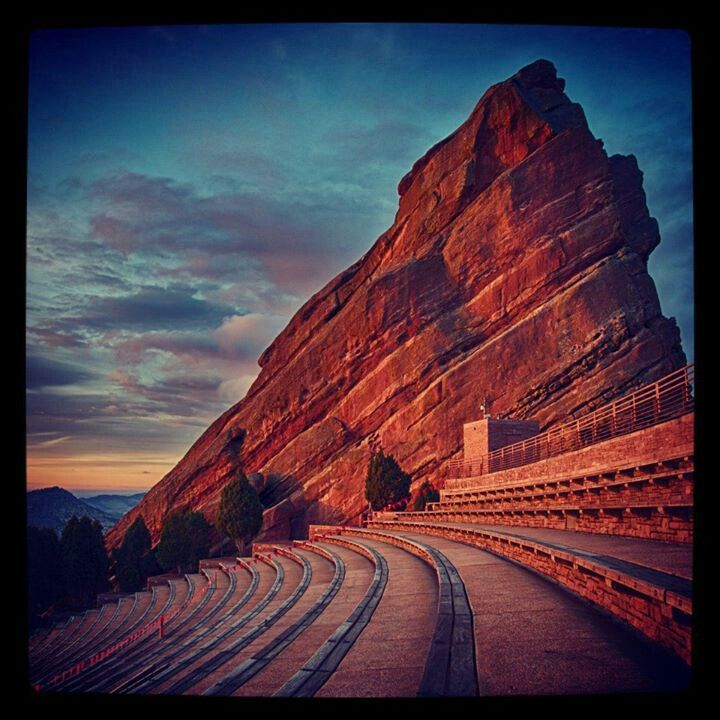 Red rocks - denver... My fav place for concerts!