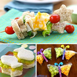 cute food ideas for kids images | Fun Sack Lunch Recipe Ideas for Kids - Crumbs - April 2013 - Detroit ...