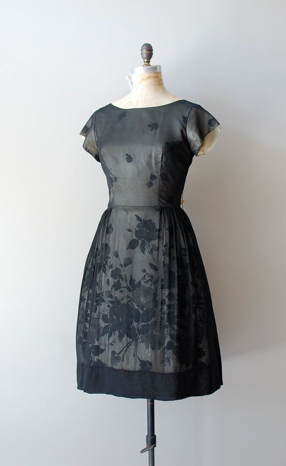 vintage 1950s Grand Illusion dress