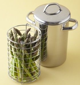 How to Cook Asparagus   Asparagus Steamer   Simple and delicious side ...