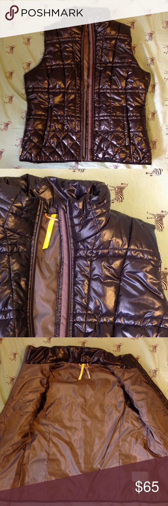 Lole down vest Perfect condition! Worn maybe twice? Has hand pockets and a hidden interior pocket! Lole Jackets & Coats Vests