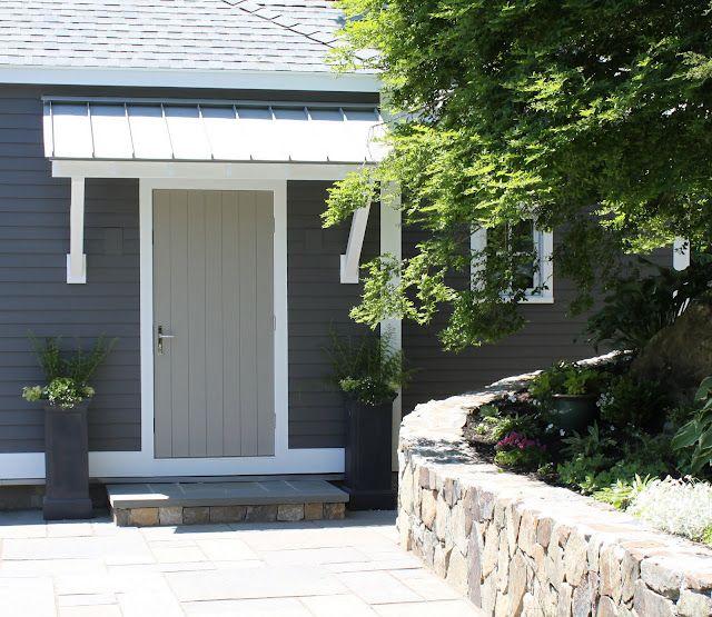 Shed roof over a doorway houses pinterest metal for Metal door paint colors