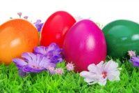 Βάφουμε αυγά με χρώματα ζαχαροπλαστικής