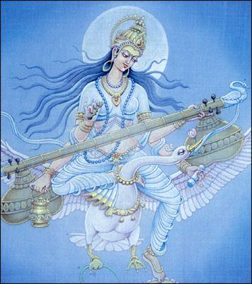 Kalaimagal: Saraswati - Goddess of Knowledge, Music, Art