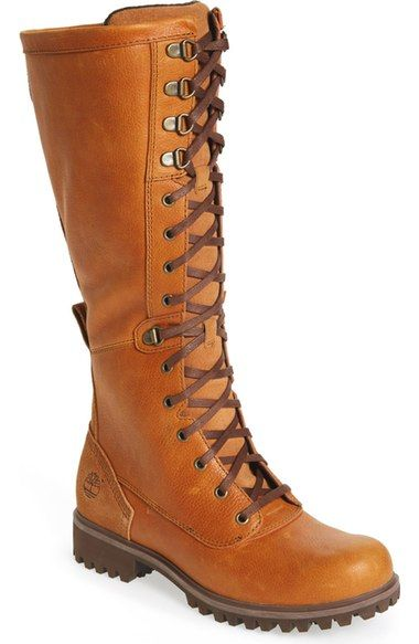 Timberland 'Wheelwright' Lace-Up Boot (Women) available at #Nordstrom