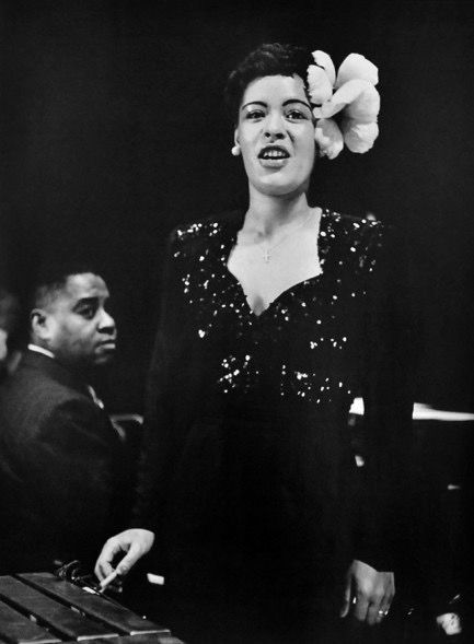 Billie holiday and Lionel Hampton