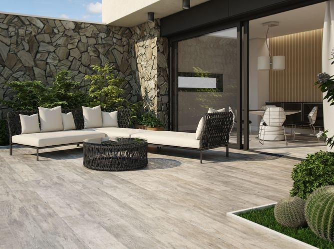 Les 25 meilleures id es de la cat gorie carrelage piscine for Photo deco terrasse exterieur