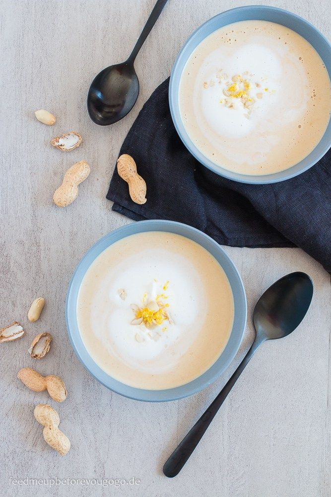 Südstaatenküche: Erdnusssuppe Rezept / Peanut Soup // Feed me up before you go-go