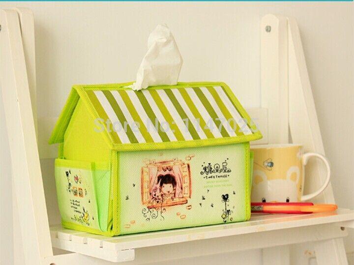 Creative милый маленький дом карри конфеты дом ткань коробка добыча коробка 17,5 X 15 X 12 см