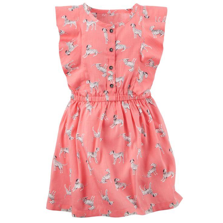 Printed Ruffle Dress | Carters.com