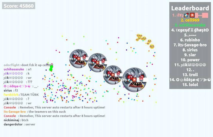 45860 mass in agarioplay.org nickname ɨł¥ş - Player: ɨł¥ş / Score: 45860